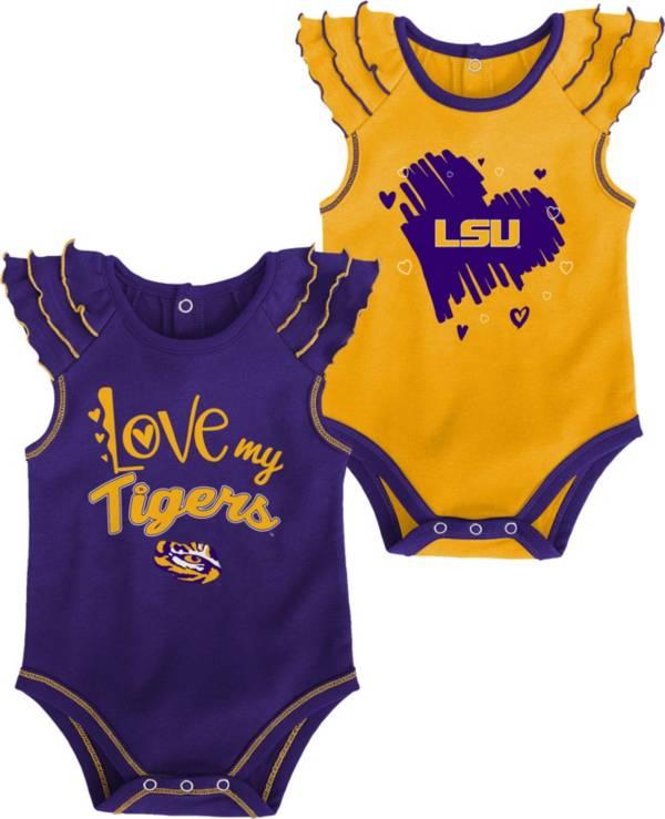 Gen2 Infant LSU Tigers Purple 2-Piece Onesie Set product image