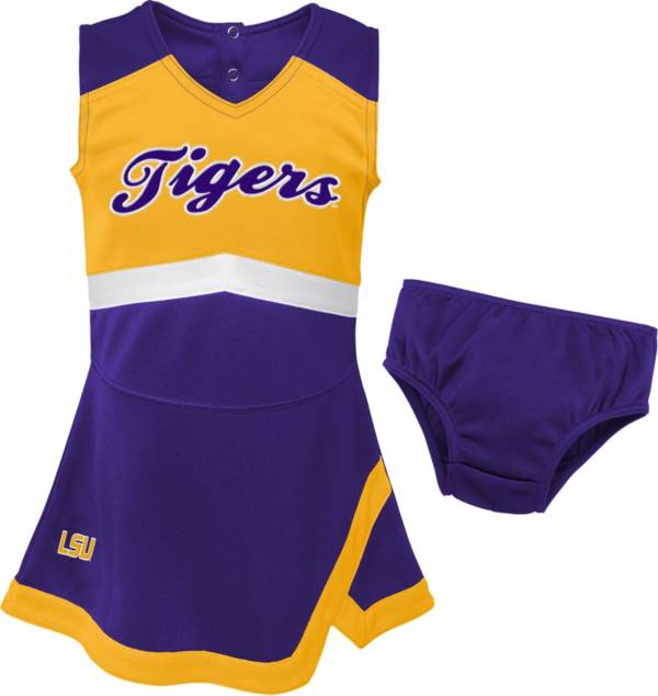 Gen2 Youth Girls' LSU Tigers Purple Cheer Captain 2-Piece Jumper Dress product image
