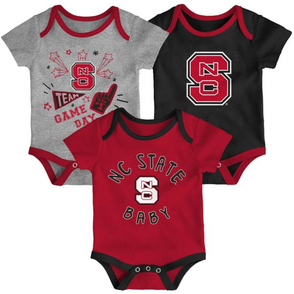 Gen2 Infant NC State Wolfpack Red Champ 3-Piece Onesie Set product image