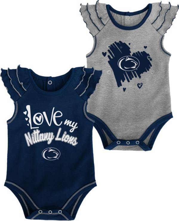Gen2 Infant Penn State Nittany Lions Blue 2-Piece Onesie Set product image