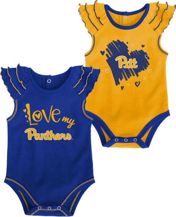 Gen2 Infant Pitt Panthers Blue 2-Piece Onesie Set product image