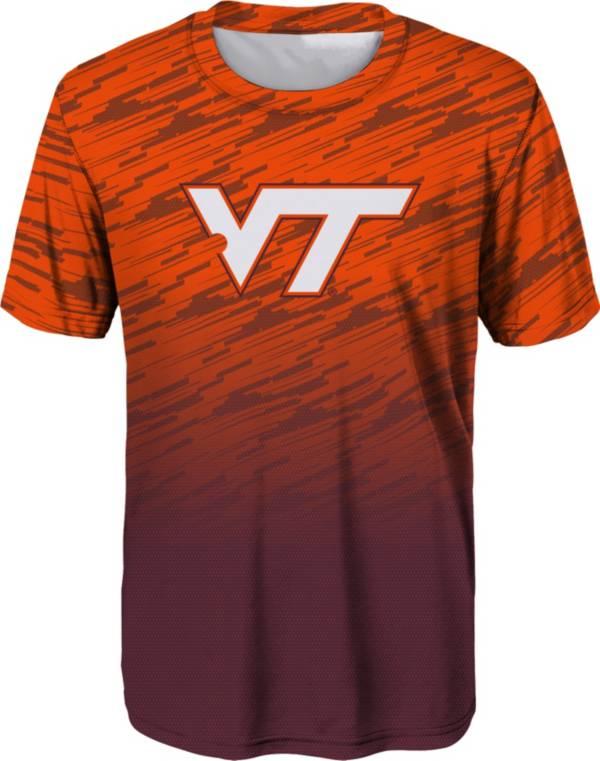 Outerstuff Youth Boys' Virginia Tech Hokies Maroon Stadium T-Shirt product image