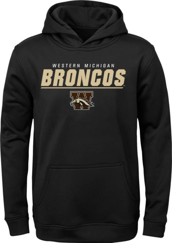 Gen2 Youth Western Michigan Broncos Pullover Black Hoodie product image