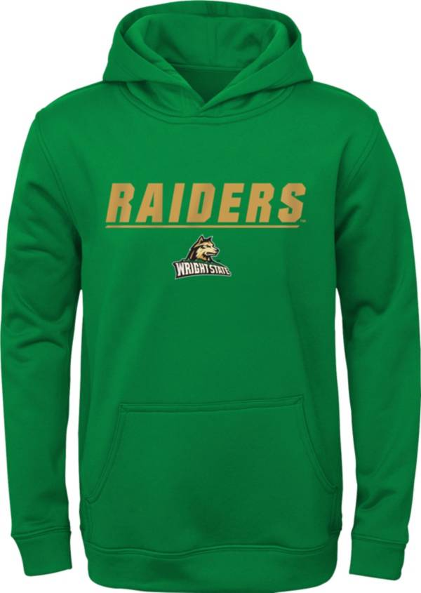 Gen2 Youth Wright State Raiders Green Pullover Hoodie product image