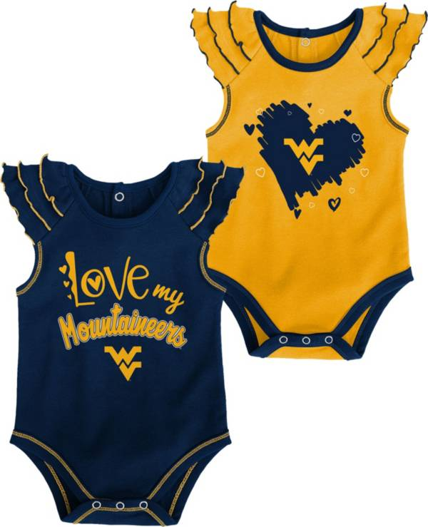 Gen2 Infant West Virginia Mountaineers Blue 2-Piece Onesie Set product image