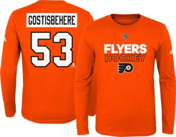 NHL Youth Philadelphia Flyers Shayne Gostisbehere #53 Orange Long Sleeve T-Shirt product image