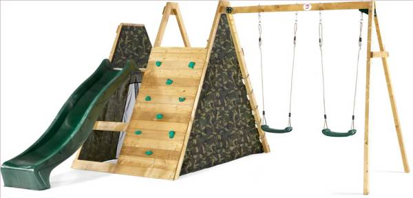 Plum Climbing Pyramid with Swings product image