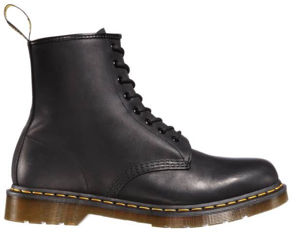 Dr. Martens Men's 1460 Greasy Leather Lace Up Boots product image