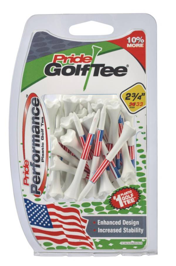 Pride Sports 2.75'' American Flag Golf Tees - 33 Pack product image