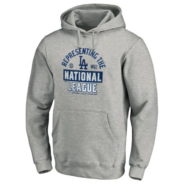 MLB Men's 2020 National League Champions Locker Room Los Angeles Dodgers Pullover Hoodie product image