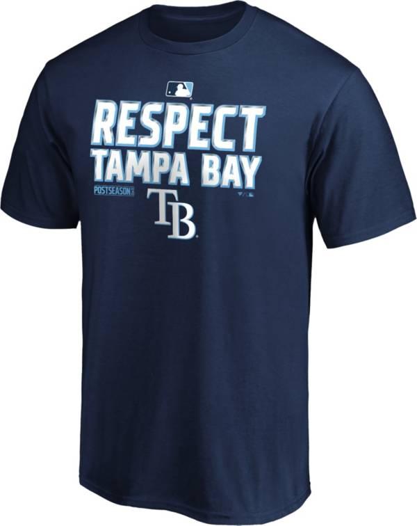MLB Men's 2020 Division Champions Locker Room Tampa Bay Rays T-Shirt product image
