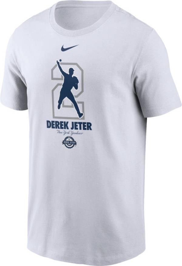 Nike Men's New York Yankees Derek Jeter 2020 Hall of Fame White T-Shirt product image