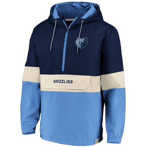 Fanatics Men's Memphis Grizzlies Quarter-Zip Windbreaker product image