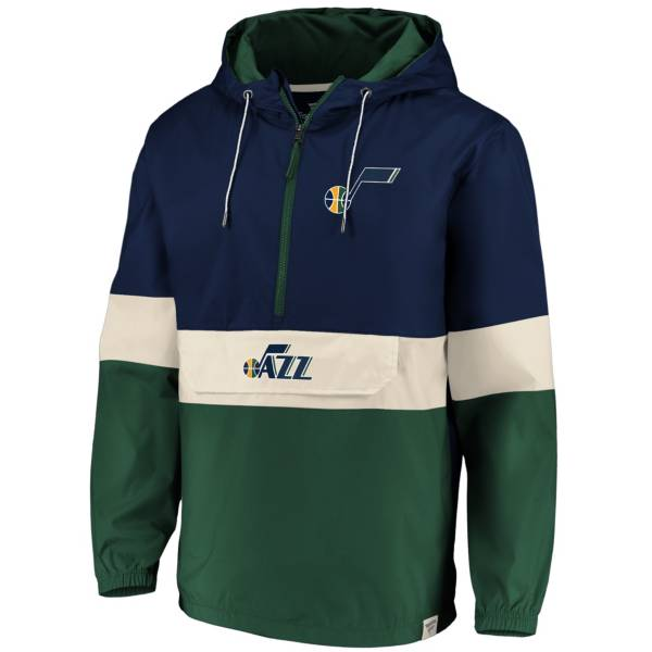 Fanatics Men's Utah Jazz Quarter-Zip Windbreaker product image