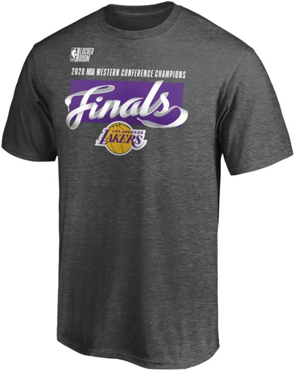 NBA Men's 2020 Western Conference Champions Los Angeles Lakers Locker Room T-Shirt product image