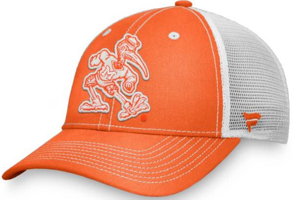 NCAA Men's Miami Hurricanes Orange Trucker Hat product image