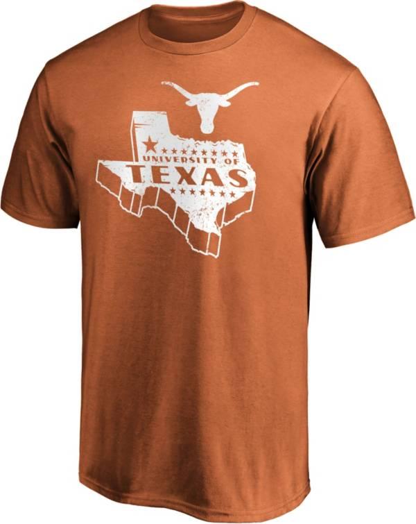 NCAA Men's Texas Longhorns Burnt Orange Basic T-Shirt product image