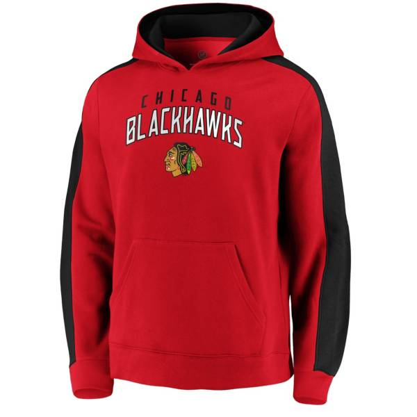 NHL Men's Chicago Blackhawks Gameday Arch Red Pullover Sweatshirt product image