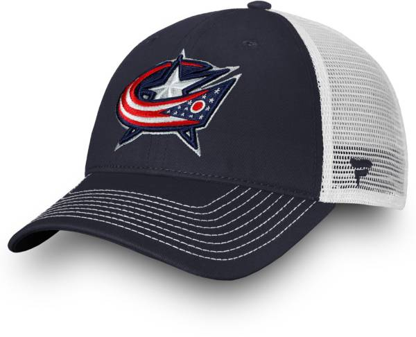 NHL Men's Columbus Blue Jackets Core Trucker Adjustable Hat product image