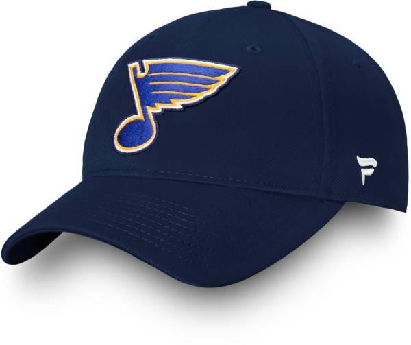 NHL Men's St. Louis Blues Alpha Adjustable Hat product image