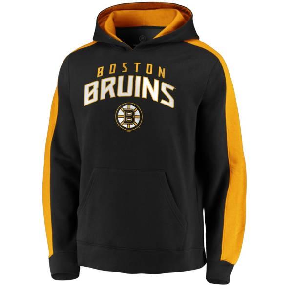 NHL Men's Boston Bruins Gameday Arch Black Pullover Sweatshirt product image