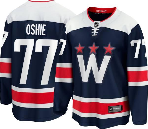 NHL Men's Washington Capitals T.J. Oshie #77 Alternate Replica Navy Jersey product image