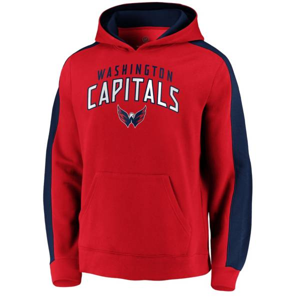 NHL Men's Washington Capitals Gameday Arch Red Pullover Sweatshirt product image