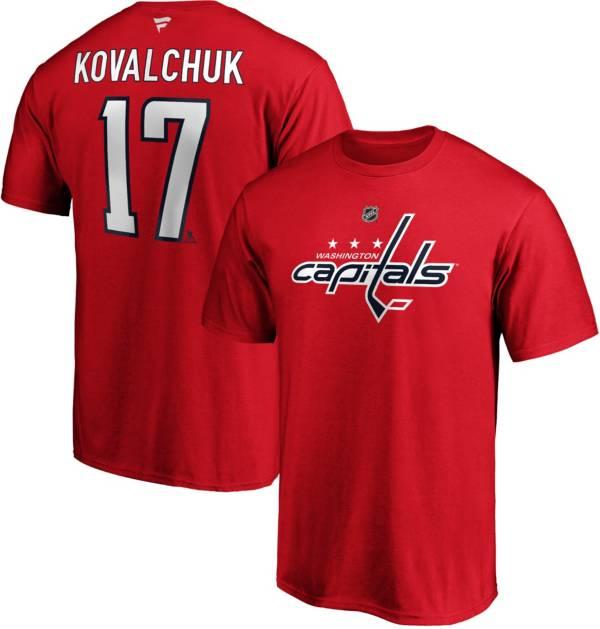 NHL Men's Washington Capitals Ilya Kovalchuk #17 Red Player T-Shirt product image