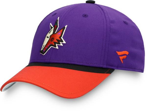 NHL Men's Arizona Coyotes Special Edition Purple Adjustable Hat product image