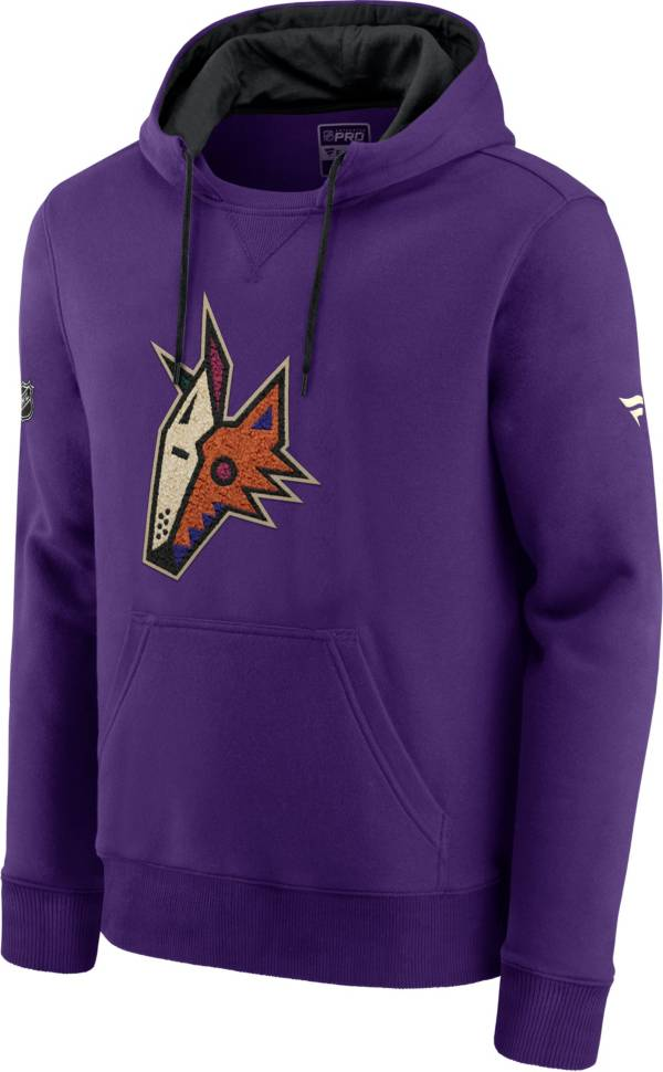 NHL Men's Arizona Coyotes Special Edition Logo Purple Pullover Hoodie product image