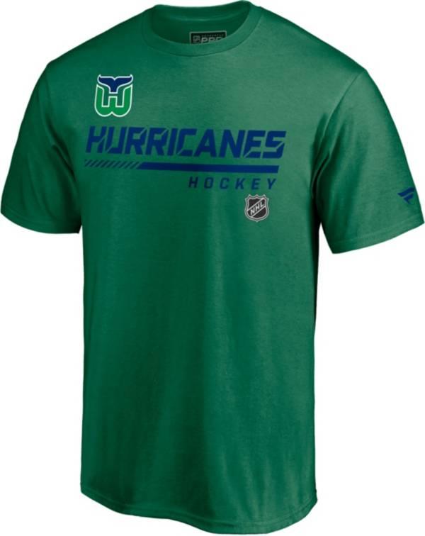 NHL Men's Carolina Hurricanes Special Edition Wordmark Green T-Shirt product image