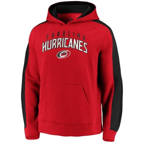 NHL Men's Carolina Hurricanes Gameday Arch Red Pullover Sweatshirt product image