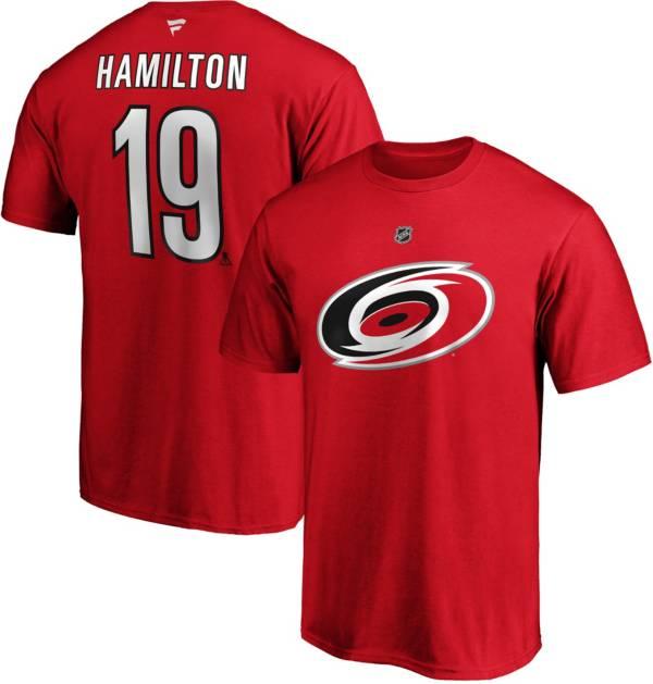 NHL Men's Carolina Hurricanes Dougie Hamilton #19 Red Player T-Shirt product image