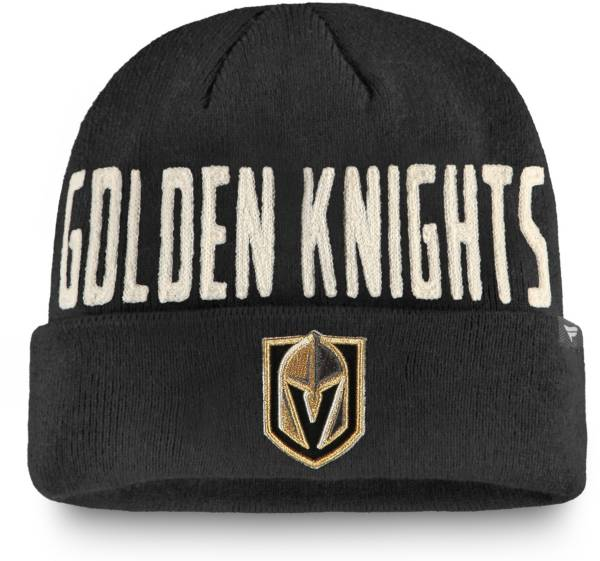 NHL Men's Vegas Golden Knights True Classic Knit Beanie product image