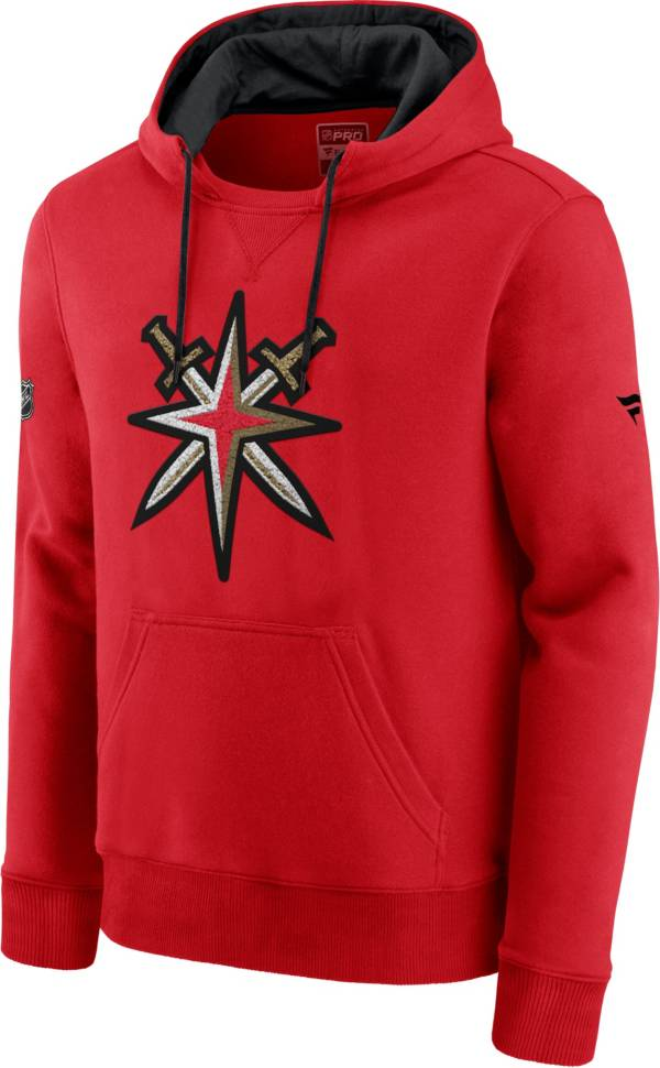 NHL Men's Vegas Golden Knights Special Edition Logo Red Pullover Hoodie product image