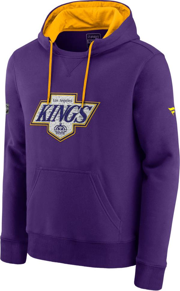 NHL Men's Los Angeles Kings Special Edition Logo Purple Pullover Hoodie product image