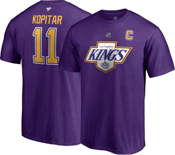 NHL Men's Los Angeles Kings Anze Kopitar #11 Special Edition Purple T-Shirt product image