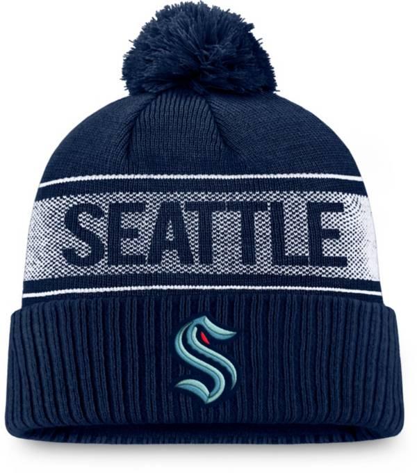 Fanatics Men's Seattle Kraken Iconic Cuff Knit Beanie product image