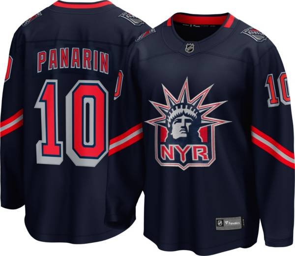 NHL Men's New York Rangers Artemi Panarin #10 Special Edition Blue Replica Jersey product image
