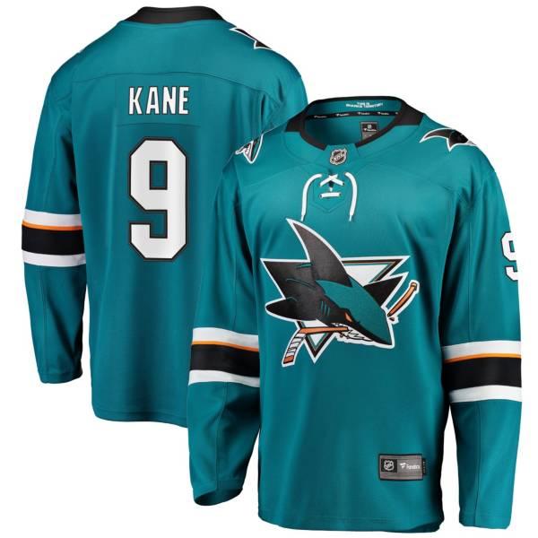 NHL Men's San Jose Sharks Evander Kane #9 Breakaway Home Replica Jersey product image