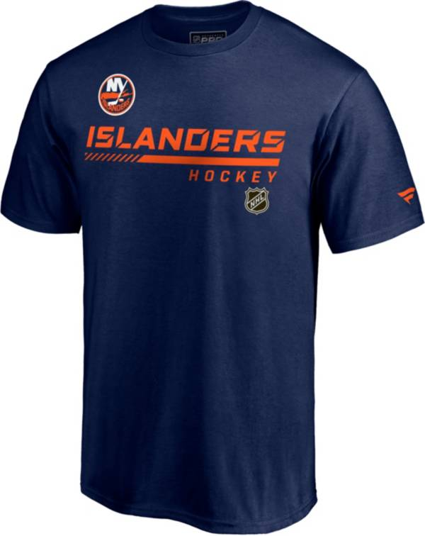 NHL Men's New York Islanders Special Edition Wordmark Navy T-Shirt product image