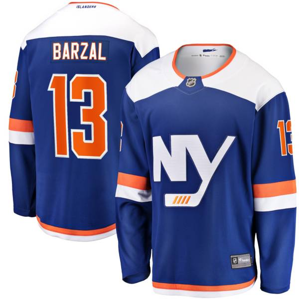 NHL Men's New York Islanders Matthew Barzal #13 Breakaway Alternate Replica Jersey product image