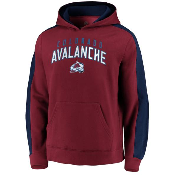 NHL Men's Colorado Avalanche Gameday Arch Red Pullover Sweatshirt product image