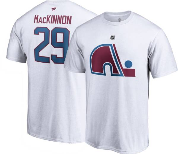 NHL Men's Colorado Avalanche Nathan MacKinnon #29 Special Edition White T-Shirt product image