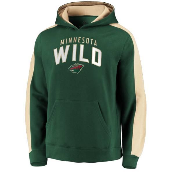 NHL Men's Minnesota Wild Gameday Arch Green Pullover Sweatshirt product image