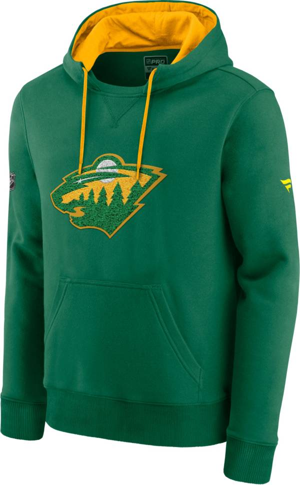 NHL Men's Minnesota Wild Special Edition Logo Green Pullover Hoodie product image