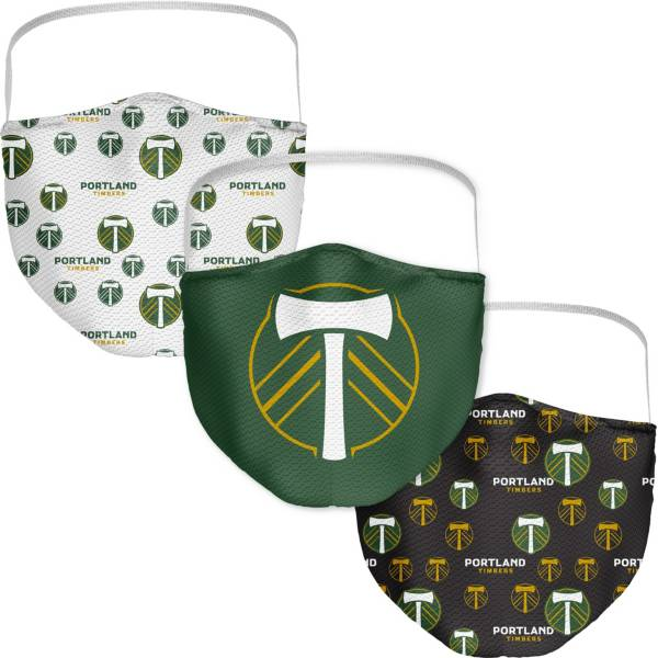 Portland Timbers 3-Pack Face Coverings product image