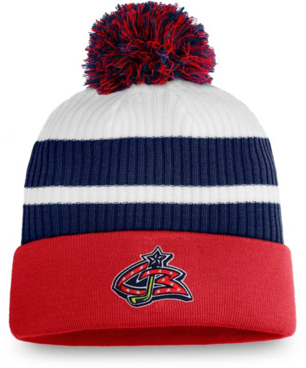 NHL Men's Columbus Blue Jackets Red Special Edition Knit Pom Beanie product image