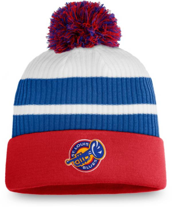 NHL Men's St. Louis Blues Red Special Edition Knit Pom Beanie product image