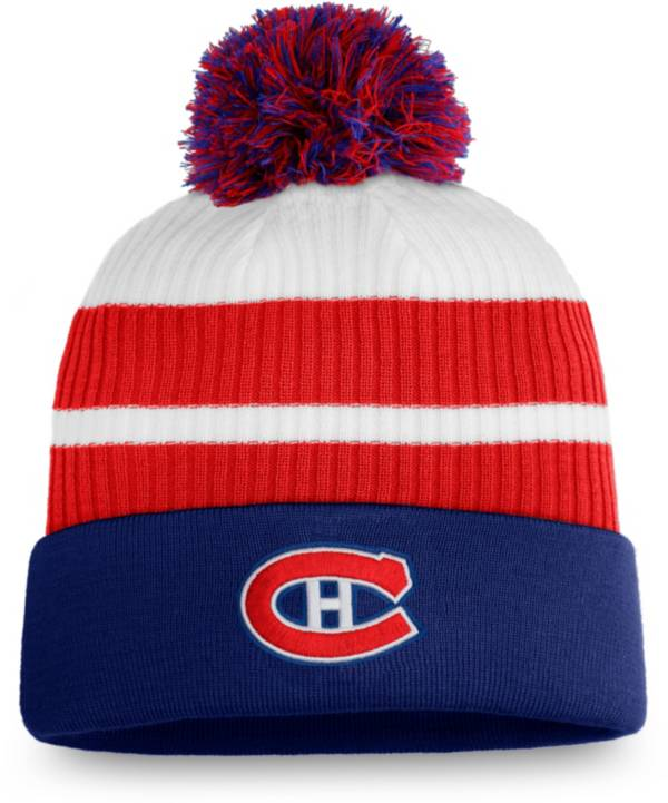 NHL Men's Montreal Canadiens Blue Special Edition Knit Pom Beanie product image